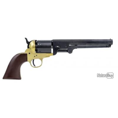 Revolver Pietta 1851 Navy Millenium US Martial Laiton Calibre 44 - DESTOCK'EXPRESS