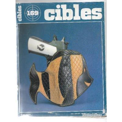 cibles 169 holster cuir , colt trooper mk III et mk V, dallas 1984 , tailles silhouettes métalliques