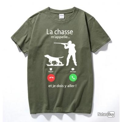 !!! TOP PROMO !!! Tee-shirt chasse humoristique réf 116