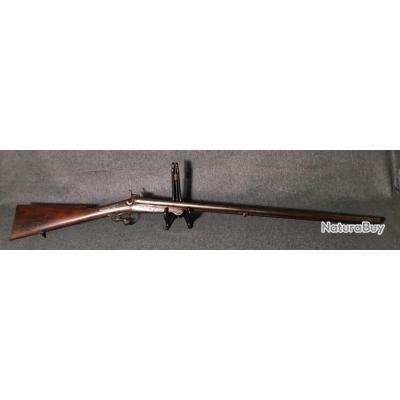 Beau fusil de chasse à broche Cal 16