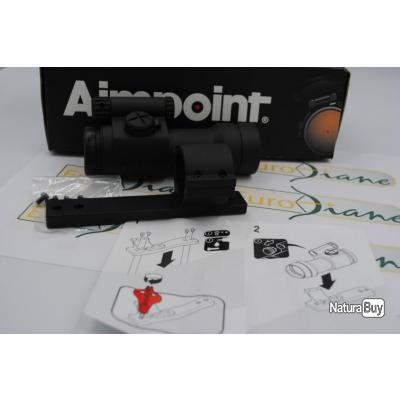 Aimpoint Comp C3, 2 MOA, avec montage fixe Aimpoint pour Browning Maral