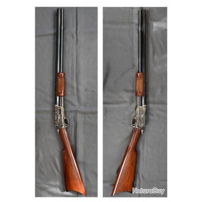 ! Collector ! Carabine Uberti Colt Lightning canon octogonal calibre 44 WCF - Etat neuf