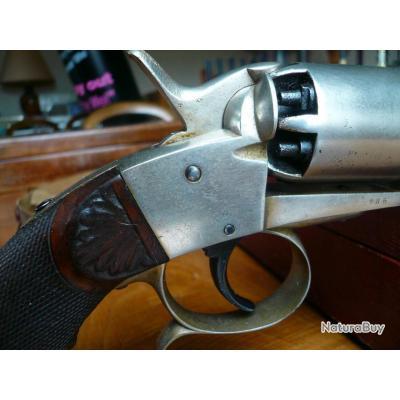 très rare revolver à percussion DEPREZ calibre 9mm en état exceptionnel
