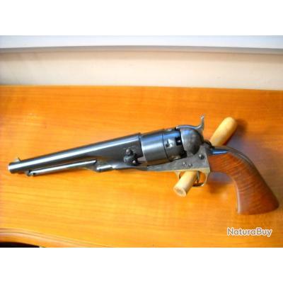 revolver poudre noire colt 1860 centaure centennial cal 44  , enchere 1 euros sans prix de reserve