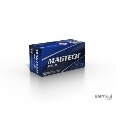 50 Cartouches 22LR Subsoniques Magtech