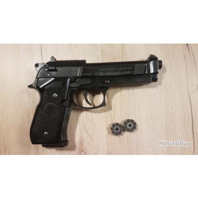 1€ ! Beretta 92FS plombs diabolo 4.5, SANS RESERVE