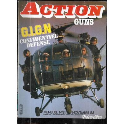action guns 81 gign, frr 1 tireur d'élite, krico stutzen 750 luxe,colt ar 15, springfield 1903,