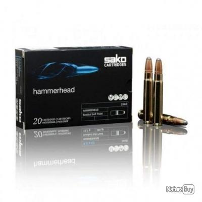 Balles Sako HammerHead SP - Cal. 9.3x62 - 286 / 18.5