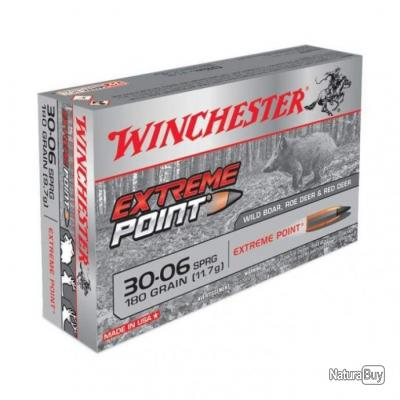 Balles Winchester Extreme Point - Cal. 30-06 Springfield - 180