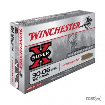 Balles Winchester Power Point - Cal. 30-06 Springfield - 150