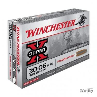 Balles Winchester Power Point - Cal. 30-06 Springfield - 165