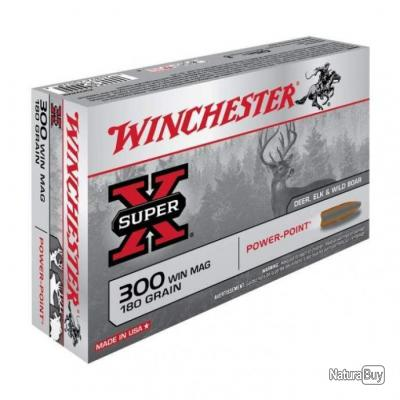Balles Winchester Power Point - Cal. 300 Win. Mag. - 150