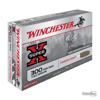 Balles Winchester Power Point - Cal. 300 Win. Mag. - 180