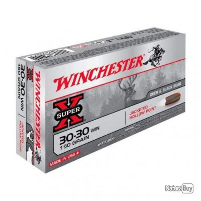 Balles Winchester HP - Cal. 30-30 - 150