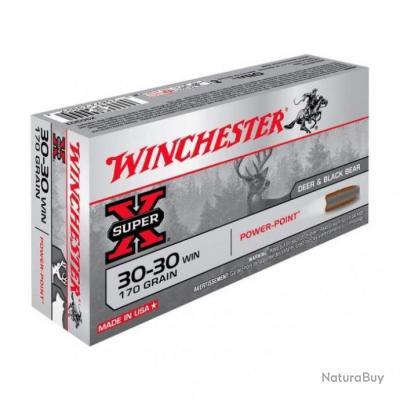 Balles Winchester Power Point - Cal. 30-30 - 170