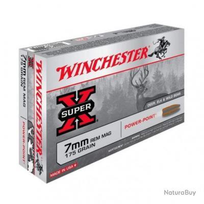 Balles Winchester Power Point - Cal. 7 RM - 175
