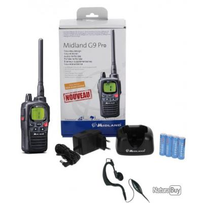 Midland talkie walkie G9 PRo
