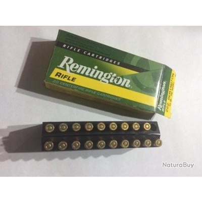 Boîte de 19 balles Cal.222 Remington