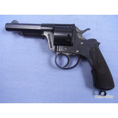 Revolver Galand de guerre modèle 1872 premier type calibre 11 mm