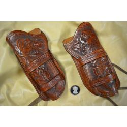 Cowboy Action Shooting OLD WEST FRENCH SHOOTERS - Portail 250_00001_Lot-2-Holster-en-cuir-pour-Revolver-1873-droitier-et-gaucher