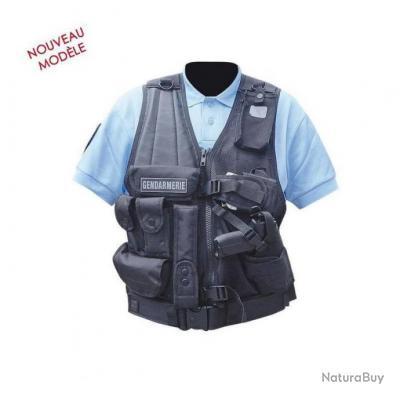 Gilet d'intervention Force Intervention T Patrol Equipement Noir Droitier