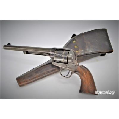 US ARMY CAVALERY 1883 COLT SAA SINGLE ACTION PEACEMAKER 45 LONG COLT avec HOLSTER - USA XIXè Très bo