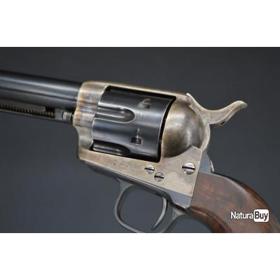 REVOLVER COLT US CAVALERY SINGLE ACTION ARMY 1873 SAA 1er Model Calibre 44 / 40 Winchester - USA XIX