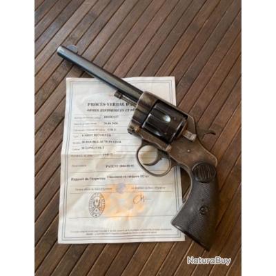 REVOLVER COLT 1895 CIVIL 38 LONG COLT