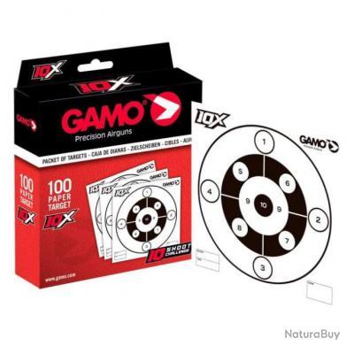 "Paquet de 100 cibles Gamo "" Zones spéciales"