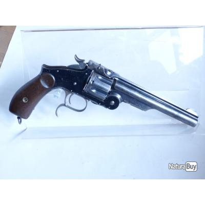 REVOLVER SMITH & WESSON fabrication TULA Third Model Russian cal.44