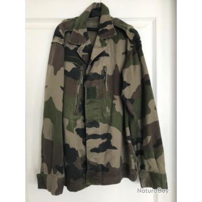 veste de treillis f1 camouflage centre europe armée française
