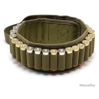 Ceinture tactique, bandelier, 30 ronds de calibre 12