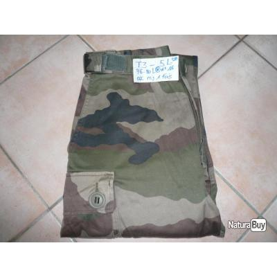 Pantalon felin T3 camo ce / taille : 5L (76-80L) / occasion felin t3 / N°16