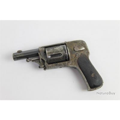 REVOLVER 8mm92 - HAMMERLESS DOUBLE ACTION - 1€ SANS PRIX DE RESERVE