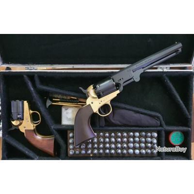 Revolvers poudre noir