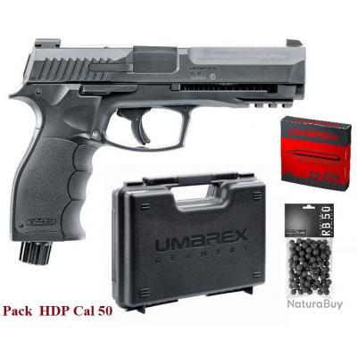 Pack Pistolet de defense  HDP50 / Co2 Cal 50
