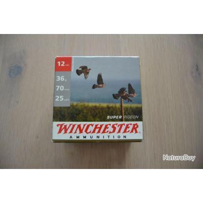 cartouche  winchester super pigeon