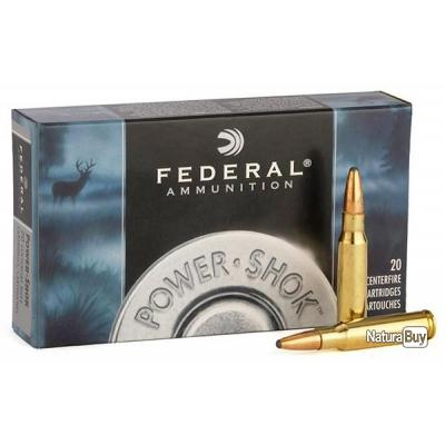 FEDERAL POWER SHOK SOFT POINT CAL. .300 SAVAGE