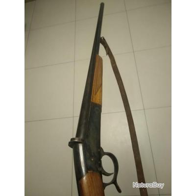 Fusil simplex Manufrance saint Etienne 12/70