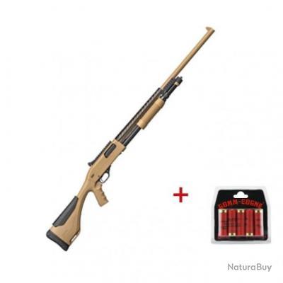 Pack Fusil à pompe Winchester SXP Xtrem Defender Rifled - Cal. 12/76