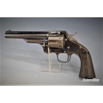 MERWIN HULBERT 1883 REVOLVER 4ème MODEL 2% Production Bronzé BLEU - USA XIXè Très bon  U.S.A. XIX em