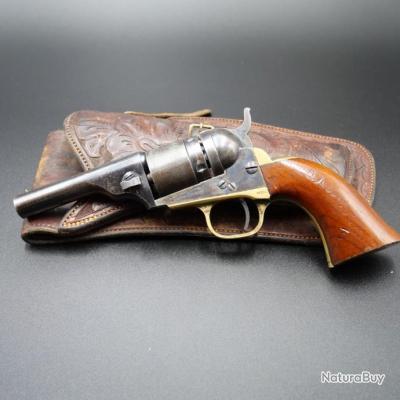 Rare Révolver Colt Navy 1862 Conversion cartouches métalliques