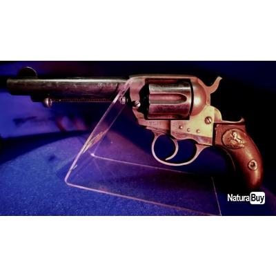 Beau Revolver 38 Long Colt état mécanique parfaite Cat D2