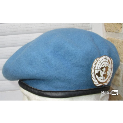 Beret Bleu ONU/UN Fabrication GB