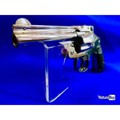 "Smith & Wesson 38 Safety Fourth model ""New Departure"" Canon de 3,5 pouces état neuf ."