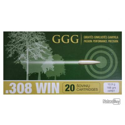 308 Win. HPBT Match 168gr - GGG