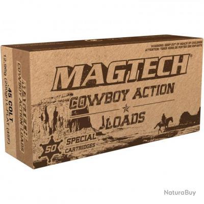 Cowboy-Action-Shooting, .45 Long Colt, plomb tête plate (Calibre: .45 LC)