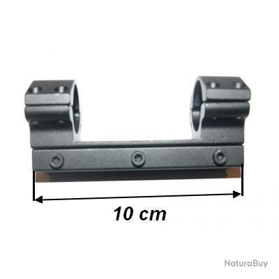 montage lunette monobloc colliers 25.4mm pour rail de 11mm - VENDU PAR JEPERCUTE (D5T795)