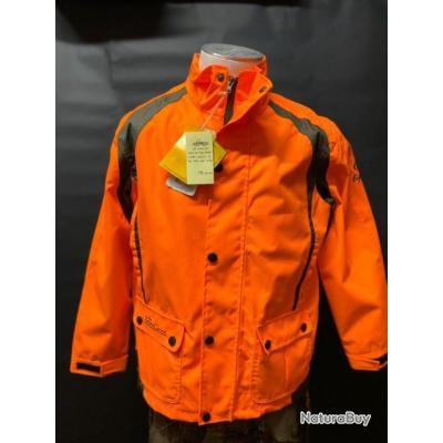 VERNEY-CARRON Super Traque Light G7 veste de chasse enfant junior orange (NEUF)