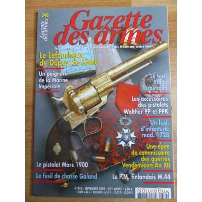 Gazette des armes N° 346
